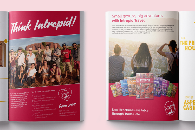 Design for Intrepid Travel » pixel and ink | Branding and